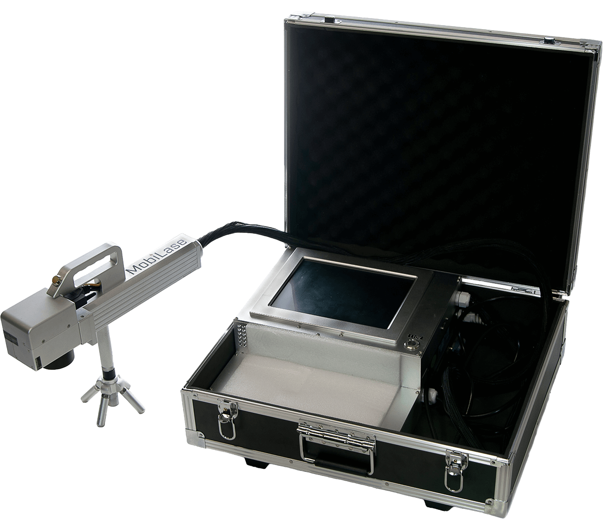 MobiLase - The Industrial Fiber Laser Marker in a Suitcase