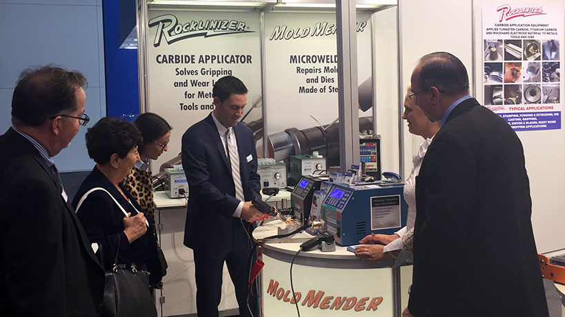 Rocklinizer and MoldMender Featured at EMO Hannover 2017