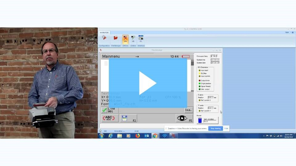 FlyMarker® Tutorial Video Demonstrates Software Functionality and Ease of Use